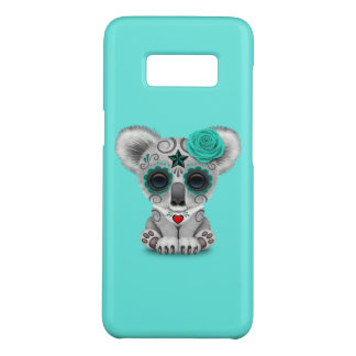 Blue Day of the Dead Baby Koala Case-Mate Samsung Galaxy S8 Case