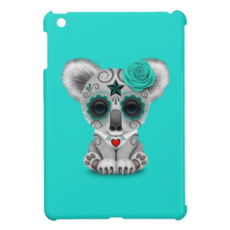 Blue Day of the Dead Baby Koala Cover For The iPad Mini