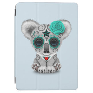 Blue Day of the Dead Baby Koala iPad Air Cover