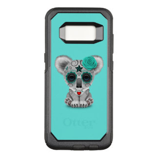 Blue Day of the Dead Baby Koala OtterBox Commuter Samsung Galaxy S8 Case