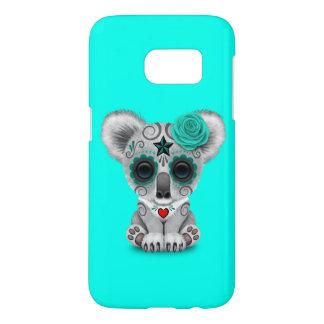 Blue Day of the Dead Baby Koala Samsung Galaxy S7 Case