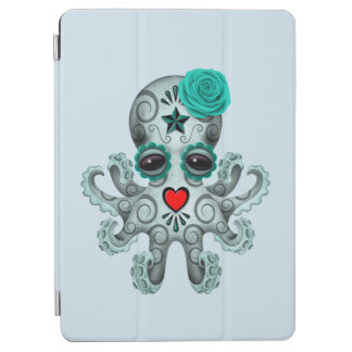 Blue Day of the Dead Baby Octopus iPad Air Cover
