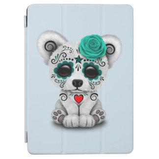 Blue Day of the Dead Baby Polar Bear iPad Air Cover