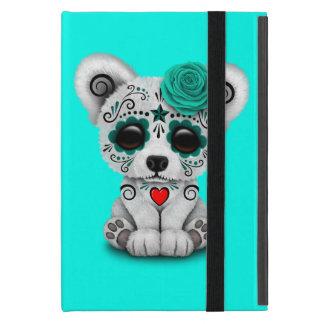 Blue Day of the Dead Baby Polar Bear iPad Mini Cover