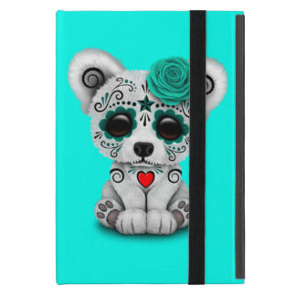 Blue Day of the Dead Baby Puppy Dog iPad Mini Cover