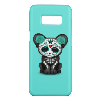Blue Day of the Dead Black Panther Cub Case-Mate Samsung Galaxy S8 Case