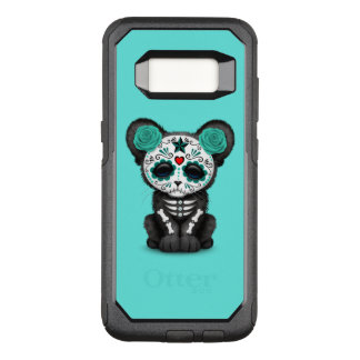 Blue Day of the Dead Black Panther Cub OtterBox Commuter Samsung Galaxy S8 Case