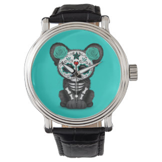 Blue Day of the Dead Black Panther Cub Watch