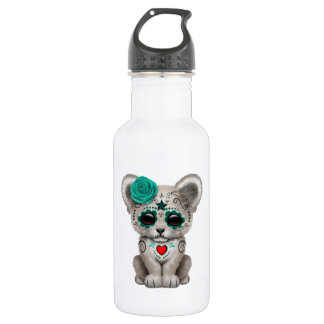Blue Day of the Dead Lion Cub 532 Ml Water Bottle