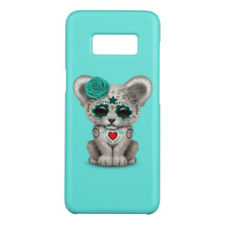 Blue Day of the Dead Lion Cub Case-Mate Samsung Galaxy S8 Case