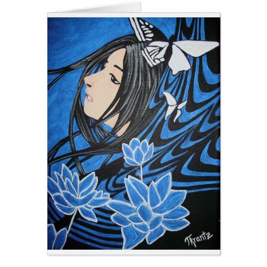 Blue Daydream Card