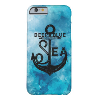 Blue Deep is nautical beautiful marries Barely There iPhone 6 Case