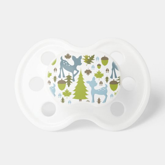 Blue Deer Pacifier
