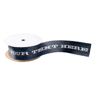 Blue Denim Gift Ribbon Satin Ribbon