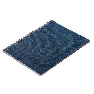 Blue Denim Spiral Note Book