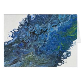 Blue Depths Card