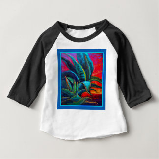 BLUE DESERT AGAVE RED DAWN DESIGN BABY T-Shirt
