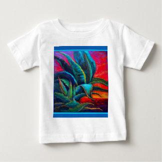 BLUE DESERT AGAVE RED DAWN DESIGN BABY T-Shirt