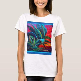 BLUE DESERT AGAVE RED DAWN DESIGN T-Shirt