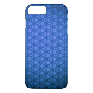 Blue Design Cell Phone Case