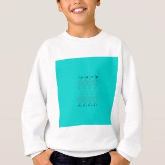 Blue design elements sweatshirt