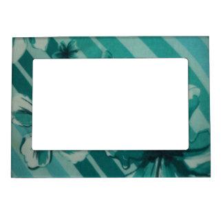 Blue Design Magnetic Photo Frame