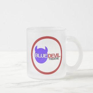 Blue Devil Theatre Logo Glass Mug