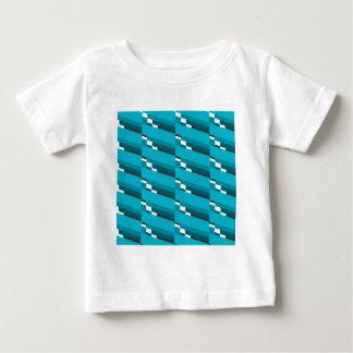 Blue Diagonal Line Baby T-Shirt