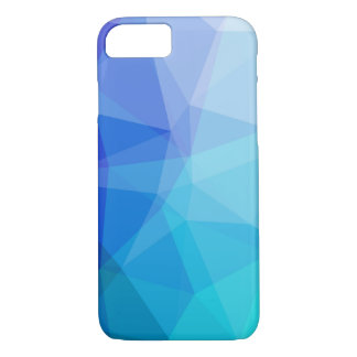 Blue Diamond Matrix Ombre iPhone 8/7 Case
