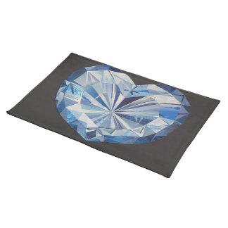Blue diamond Placemat