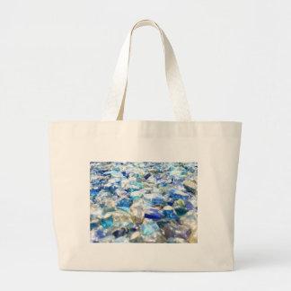 Blue-diamonds Tote Bags