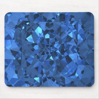 Blue Diamonds Mouse Pad