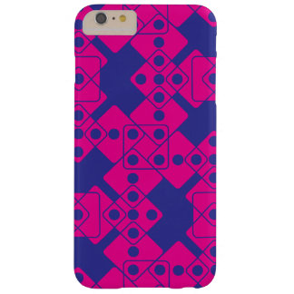 Blue Dice Barely There iPhone 6 Plus Case