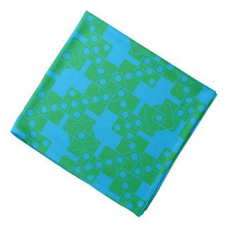 Blue Dice Kerchief