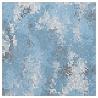 Blue Digi Camo Fabric