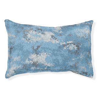 Blue Digi Camo Pet Bed