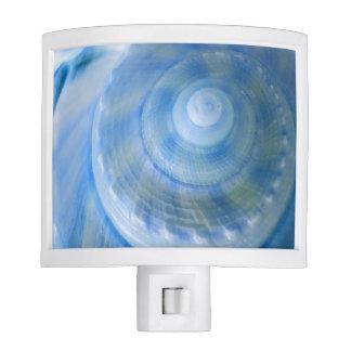 Blue Digital Seashell Bathroom Set Nightlight Night Lites