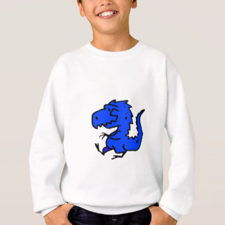 Blue Dino Sweatshirt
