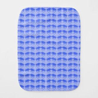 Blue Dinosaur Baby Gifts Burp Cloth