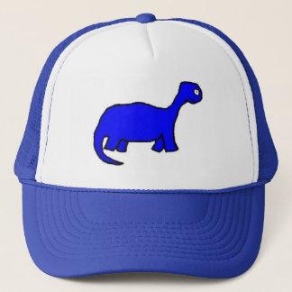 BLUE DINOSAUR! HAT! TRUCKER HAT