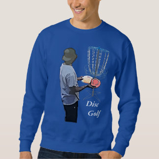 Blue Disc Golfing Shirt