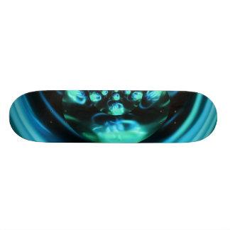 Blue Distraction Skate Board Deck