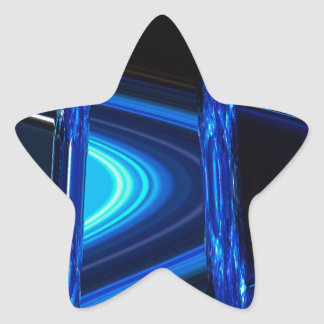 Blue Distraction Star Sticker