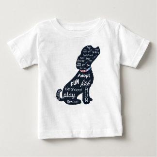 Blue Dog Baby T-Shirt