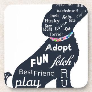 Blue Dog Beverage Coaster
