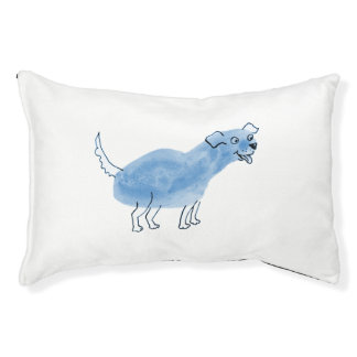 Blue Dog Dog Bed Small Dog Bed