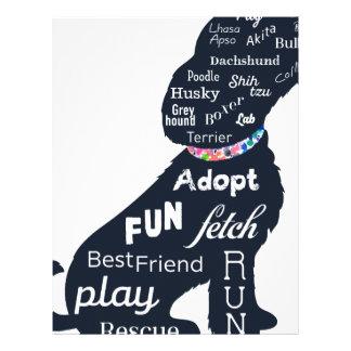 Blue Dog Letterhead