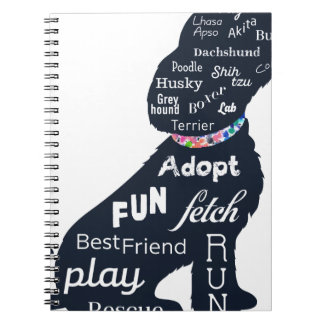 Blue Dog Note Book
