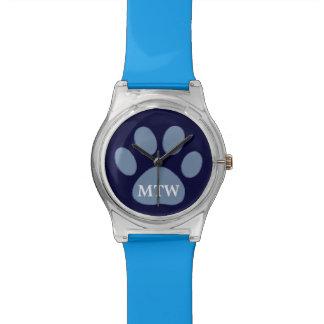 blue dog paw watch