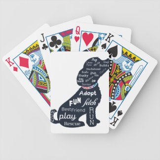 Blue Dog Poker Deck